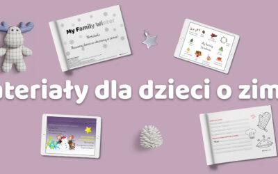Materiały dla dzieci o zimie po angielsku